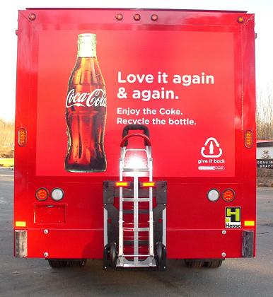 B&P Liberator locked aboard Coca-Cola Hesse Beverage Body