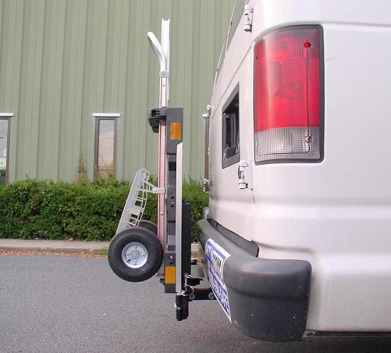 HTS-20S Swing Mount Ultra-Rack - B&P Liberator hand truck