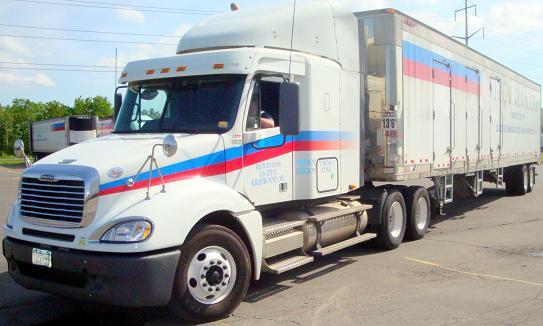 Willow Run Foods Ryder Freightliner