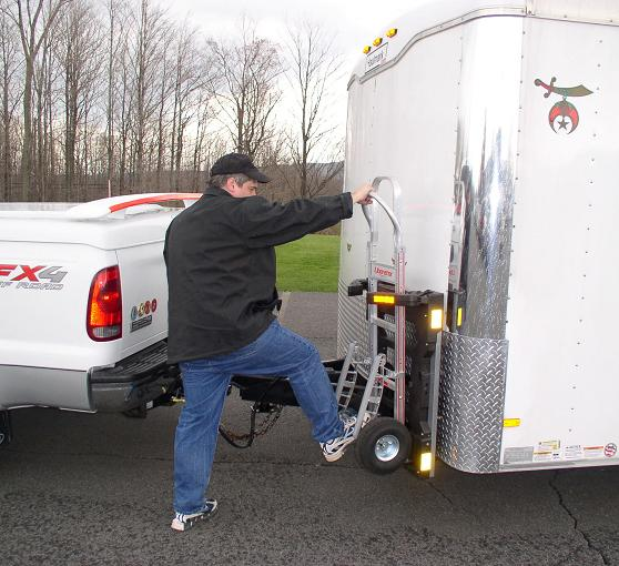 hand truck lock for cargo trailers - B&P Liberator Hand Trucks