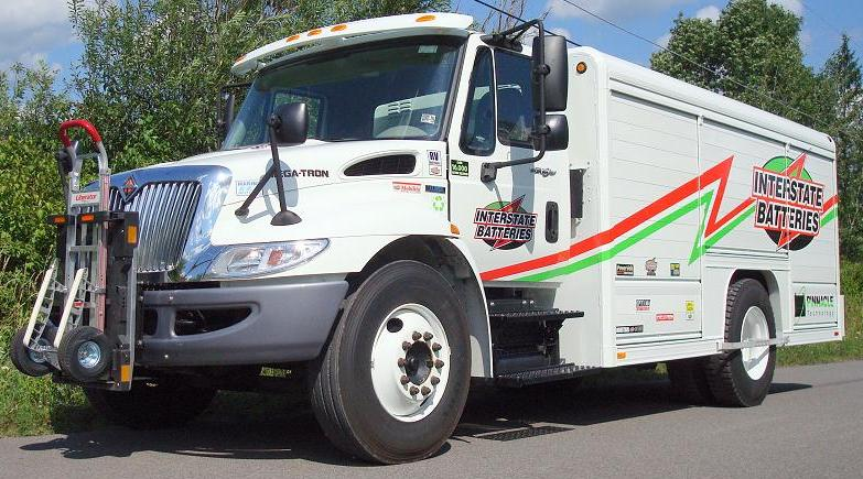 Interstate Batteries Navistar and Mickey Battery Body