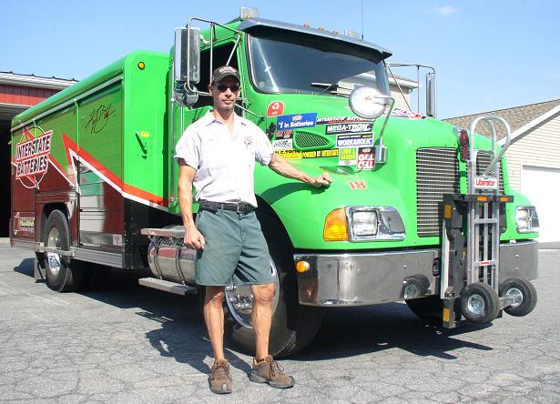 Interstate Battery of Allentown - Rick Smith route driver