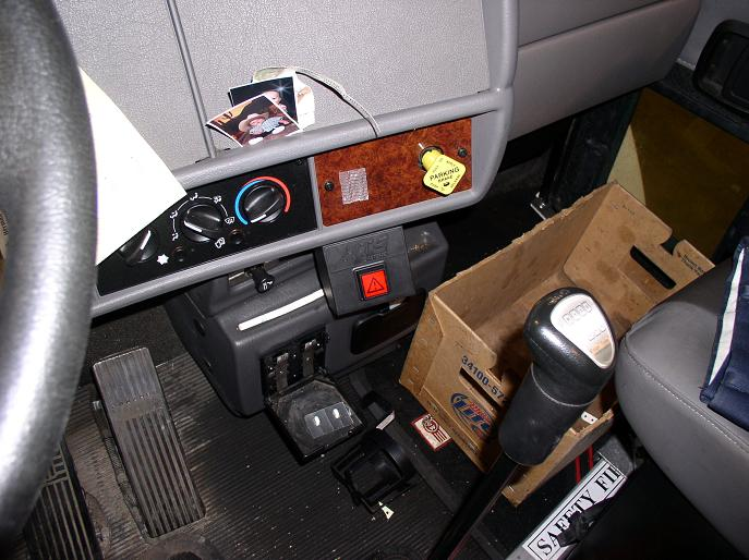 Kenworth Dash   HTS Systems Dash Release Switch