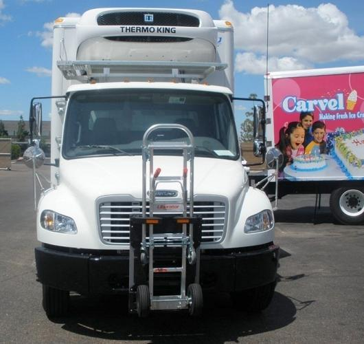 Penske Trucks Freightliner M2  CF Foods Carvel Ice Cream