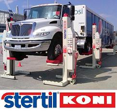 Stertil Koni USA - Heavy Duty Hydraulic Vehicle Lifts